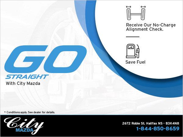 Go Straight With City Mazda!