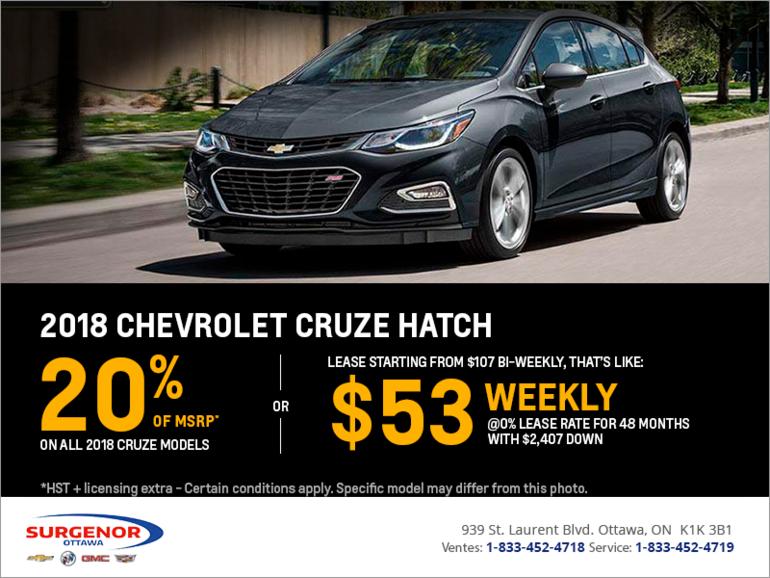 2018 Chevrolet Cruze Hatch