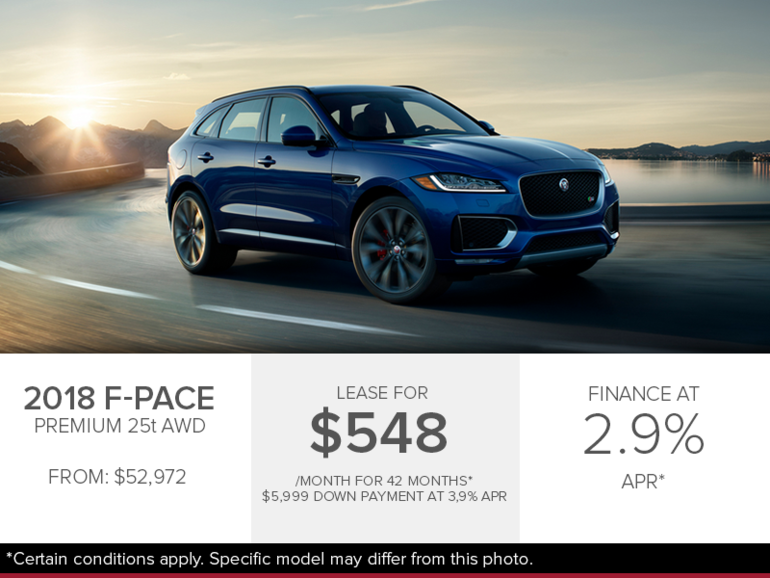 The 2018 F-Pace Premium 25t AWD