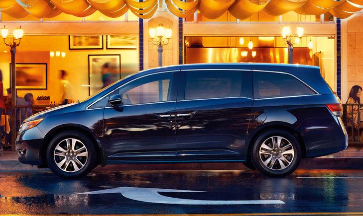 2014 Honda Odyssey – A family minivan that's fun to drive