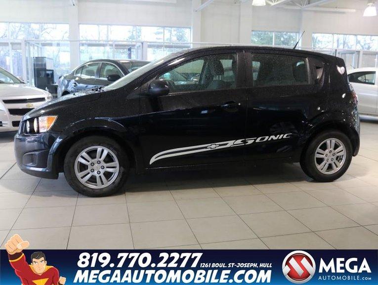 Chevrolet Sonic H.B. 2012