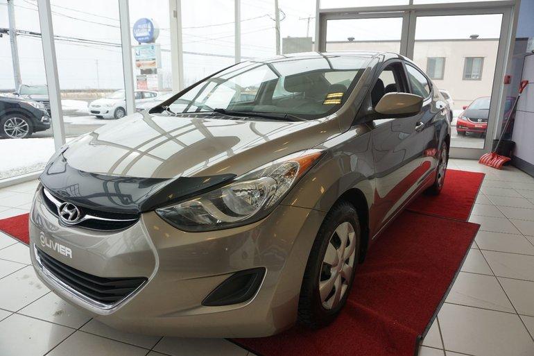 2012 Hyundai Elantra GL-BLUETOOTH-PNEUS D'HIVER-GR.ÉLECTRIQUE