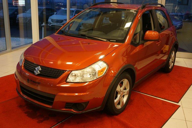 Suzuki SX4 Hatchback AWD-UN SEUL PROPRIO-JAMAIS ACCIDENTÉ-TRÈS PROPRE 2011