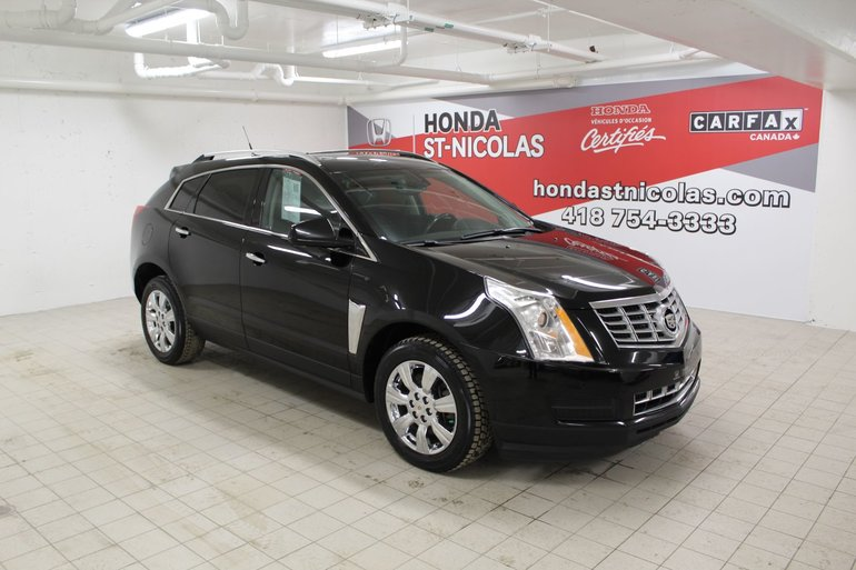 Honda St Nicolas Pre Owned 2014 Cadillac Srx Luxury Awd Toit