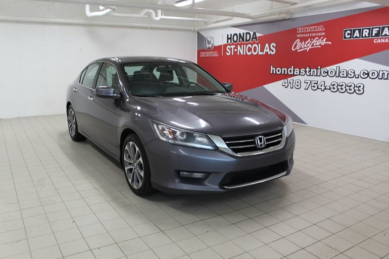 Honda Accord Sedan Sport + DÉMARREUR + TOIT + CAMÉRA 2015