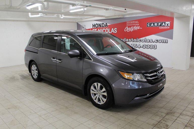Honda Odyssey EX + 8 PLACES + CAMERA + PORTES ELECTRIQUES 2015