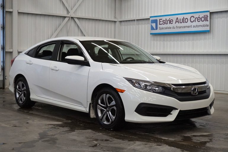 2016 Honda Civic Sedan LX (caméra de recul)
