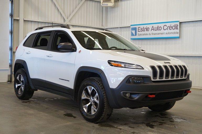2016 Jeep Cherokee Trailhawk  4WD (caméra de recul)