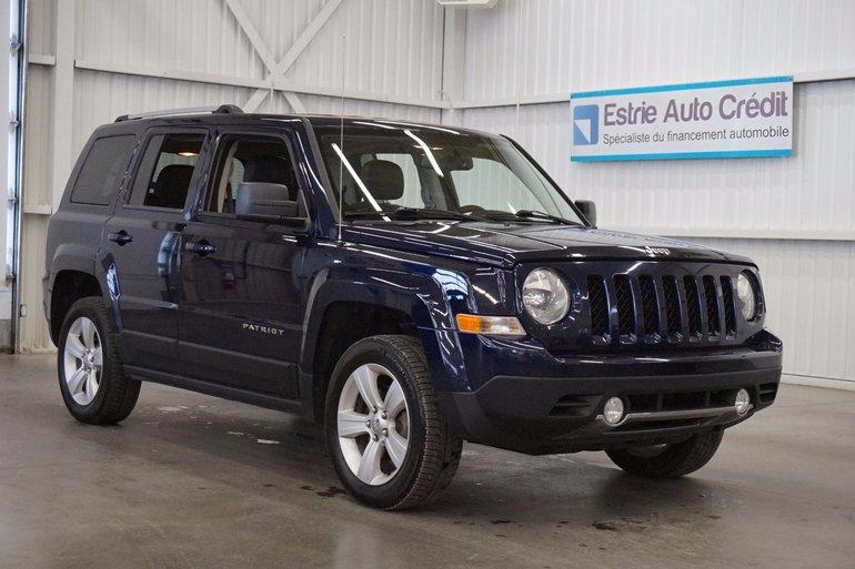 Jeep Patriot Limited 4WD (cuir) 2013
