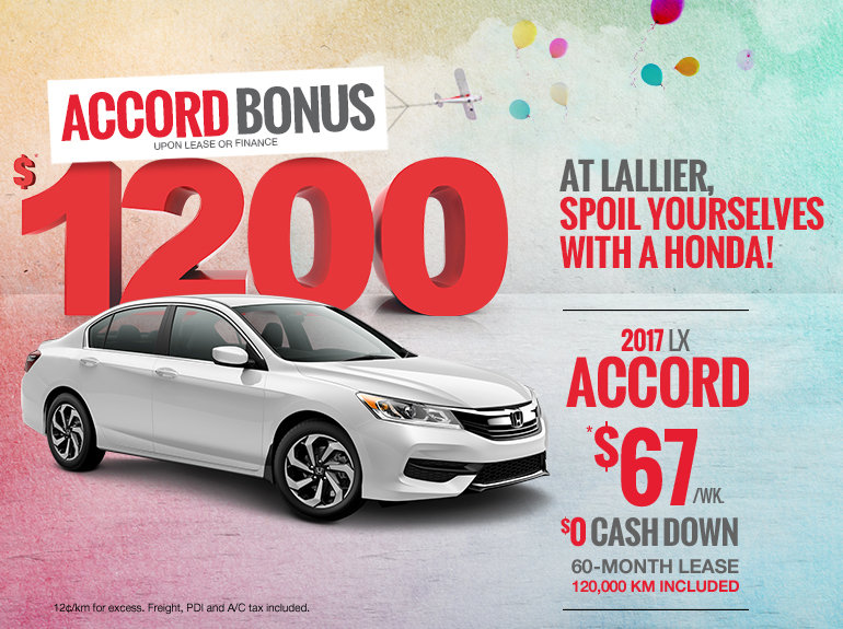 Save on the 2017 Honda Accord Today!
