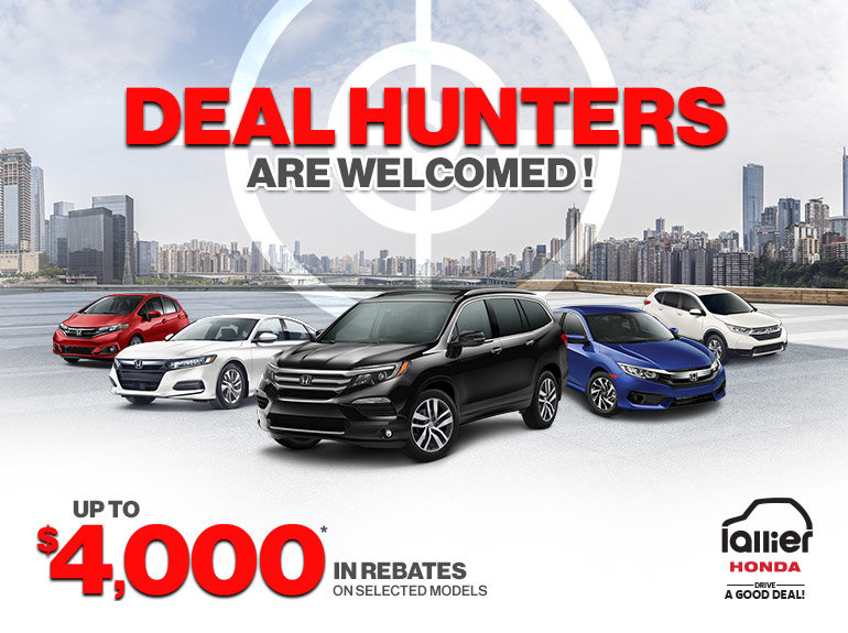 Deal hunters are welcomed !