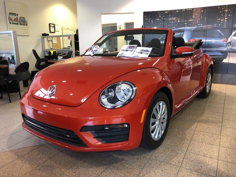 2018 Volkswagen Beetle Convertible TRENDLINE AUTO
