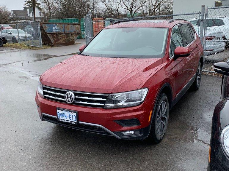 2018 Volkswagen Tiguan Comfortline w/ Navigation Pkg
