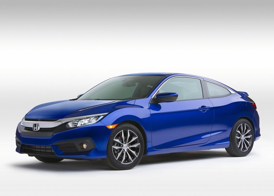 2016 Honda Civic Coupe - The Civic like you've never seen it before