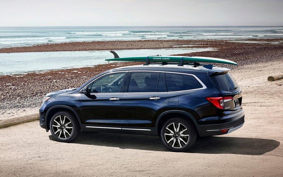Honda Pilot 2019: une conduite exaltante dans un véhicule familial pouvant transporter 8 passagers