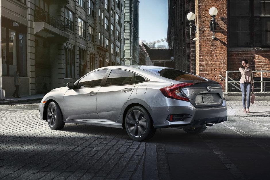 La Honda Civic en offre encore plus en 2019