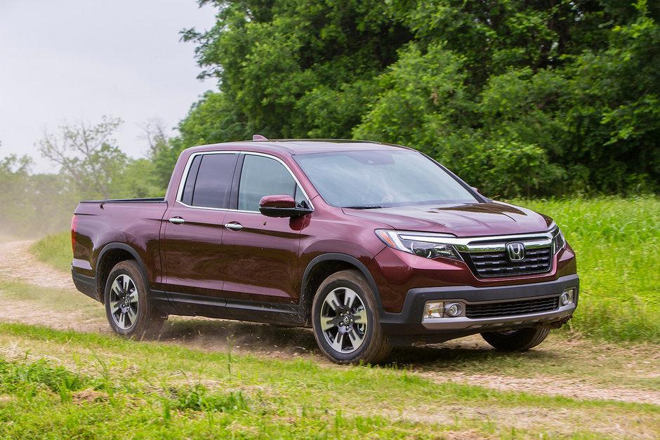 Honda Ridgeline 2019 : un camion qui en offre beaucoup