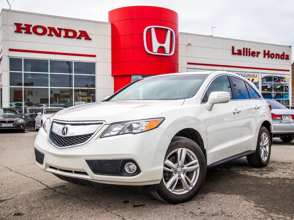 Pre-Owned 2014 Acura RDX 4WD Lallier Honda Montreal in Montréal