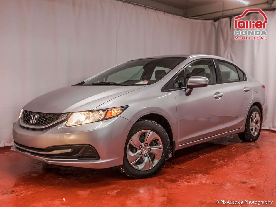 pre owned 2014 honda civic lx garantie 10 ans ou 200 000. Black Bedroom Furniture Sets. Home Design Ideas