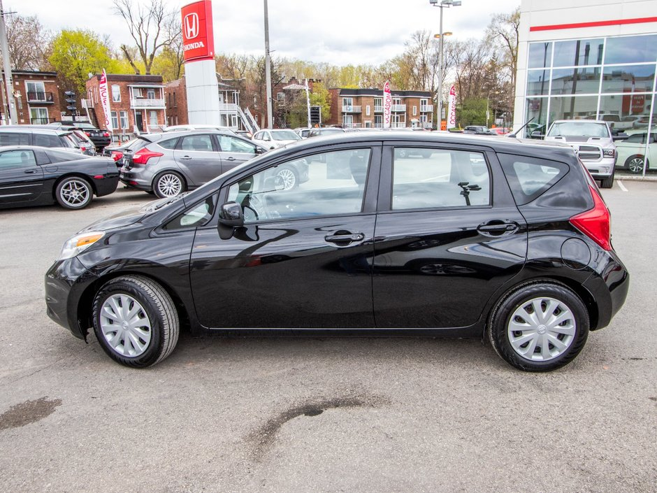 pre owned 2014 nissan versa note sv lallier honda montreal. Black Bedroom Furniture Sets. Home Design Ideas