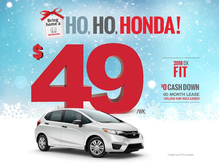 Bring home a Honda - Fit