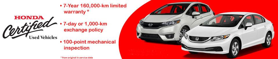 Certified Honda