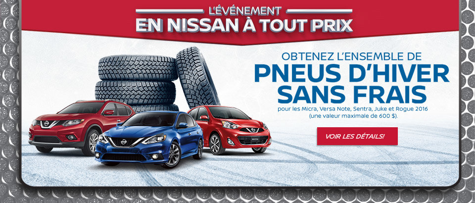 L'Événement Nissan à tout prix