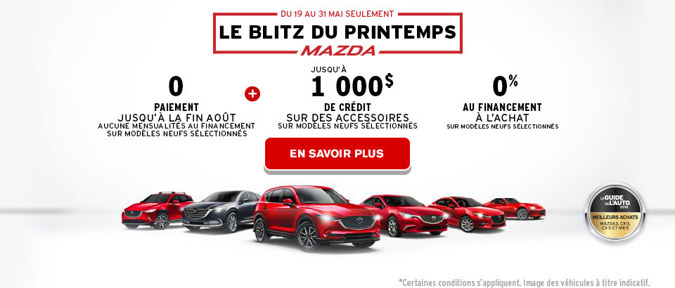 Blitx du Printemps Mazda - Header - Web