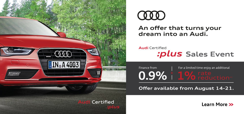 August CPO Sales Event